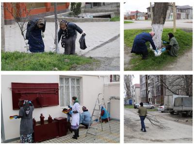 Сотрудники аппарата министерства приняли участие в общегородском субботнике