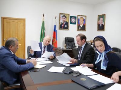 Министр промышленности и энергетики Чеченской Республики Г.С. Таймасханов провел совещание по вопросу реализации первого этапа приоритетного инвестиционного проекта Чеченской Республики