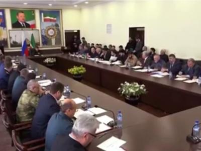 Заседание Межведомственной рабочей группы по вопросам топливно-энергетического комплекса Чеченской Республики