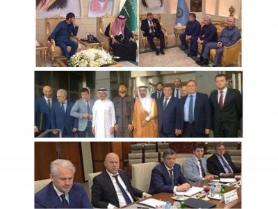 По поручению Главы Чеченской Республики Р.А. Кадырова, в рамках визита официальной делегации Чеченской Республики в Королевство Саудовская Аравия, министр промышленности и энергетики Чеченской Республики Г.С. Таймасханов принял участие в ряде встреч