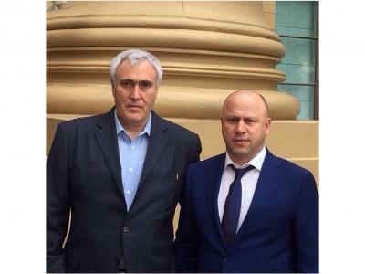 Встреча Г.С. Таймасханова с руководством Акционерной финансовой корпорации «СИСТЕМА»