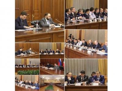 В Правительстве Чеченской Республики прошло совещание по вопросу о текущем состоянии   и перспективах развития промышленного производства на территории Чеченской Республики.