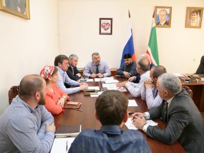 Выделение земельных участков для строительства АГНСК обсудили в Минпромэнерго ЧР