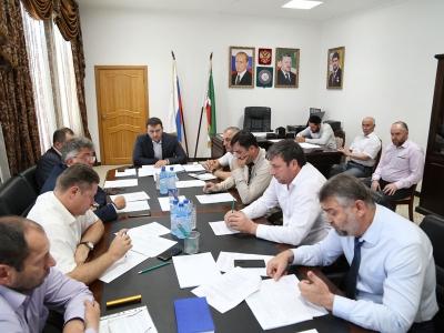 Проведено внеочередное заседание Штаба по обеспечению безопасности электроснабжения Чеченской Республики.