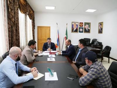 Чеченскую Республику посетили представители компании «Авелар Солар Технолоджи»», входящий в группу компаний «Хевел»