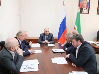 Проведено очередное заседание Штаба по обеспечению безопасности электроснабжения Чеченской Республики