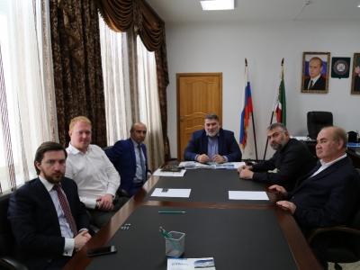 Министр промышленности и энергетики ЧР Ризван Масаев встретился с представителями чешской компании FANS