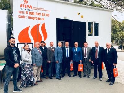Чеченские промышленники приняли участие в строительной выставке в Махачкале