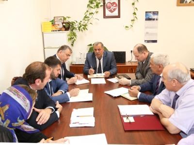 Сегодня в аппарате министерства состоялось еженедельное производственное совещание