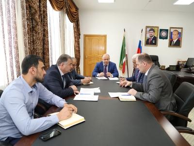 Г.С. Таймасханов провел рабочее совещание