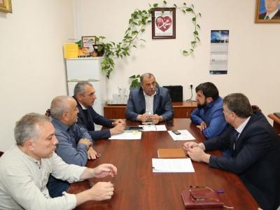 Р.А. Магомедов провел совещание с представителями министерств республики и АО «Чеченэнерго»