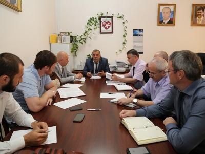 Внеплановое заседание рабочей группы АТК