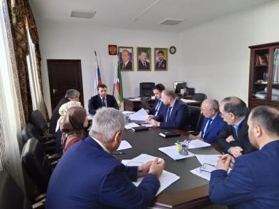 Состоялось совещание по обсуждению представления прокуратуры Чеченской Республики по результатам плановой проверки