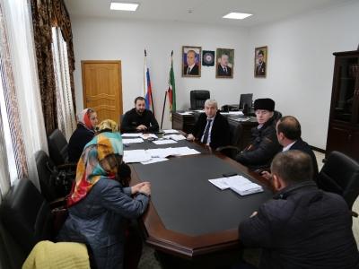 Cовещание с представителями  Ассоциации Мастеров и Ремесленников «Чечен-Этно»