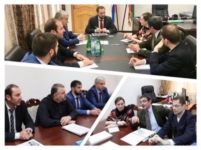 Встреча с представители Посольства Италии, Генеральный Почетным консулом Итальянской Республики в ЮФО и СКФО и большой группой итальянских предпринимателей