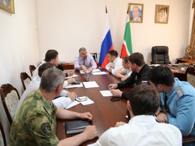 В Минпромэнерго ЧР прошло внеплановое заседание рабочей группы по обеспечению антитеррористической защищенности объектов промышленности и энергетики