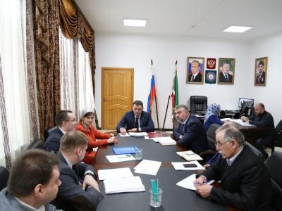 Минпромэнерго ЧР проведено рабочее совещание с участием представителей АО «Газпром промгаз», АО «Газпром газораспределение Грозный» и муниципальных районов ЧР
