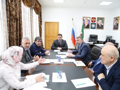 Совещание по вопросам исполнения поручений Председателя Правительства Чеченской Республики М.М. Хучиева