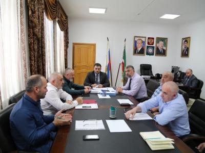 Под председательством министра Р.Р. Шаптукаева проведено совещание по вопросу учета бесхозяйных объектов, потребляющих электроэнергию