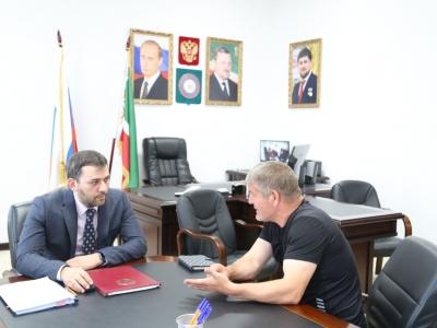 В министерстве промышленности и энергетики Чеченской Республики прошел день приема граждан