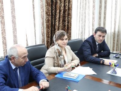 В Минпромэнерго ЧР с участием АО «Газпром газораспределение Грозный» проведено совещание
