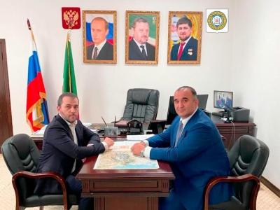 Состоялась рабочая встреча с Сенатором от законодательного органа государственной власти ЧР в Совете Федерации Мохмадом Исаевичем Ахмадовым