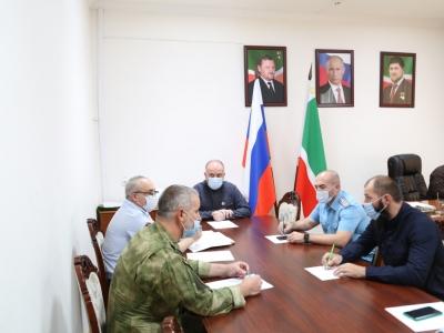 Проведено расширенное заседание с участием представителей силовых структур и контрольно-надзорных органов