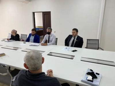 Выездное совещание, совместно с руководителями структурных подразделений Минпромэнерго ЧР и руководством НАО ИСТ «Казбек»
