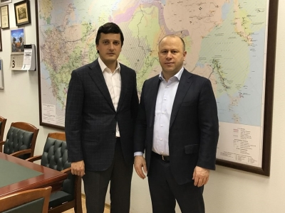 Рабочая встреча министра Г.С. Таймасханова с заместителем министра энергетики РФ А.Ю. Инюцыным