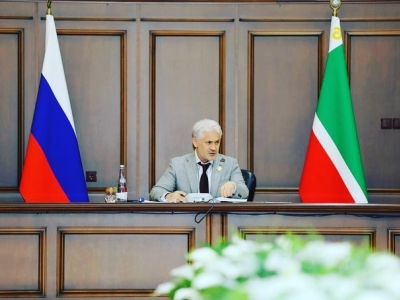 Хучиев М.М. провел расширенное совещание, на котором обсудили ход мероприятий по социальной газификации в ЧР