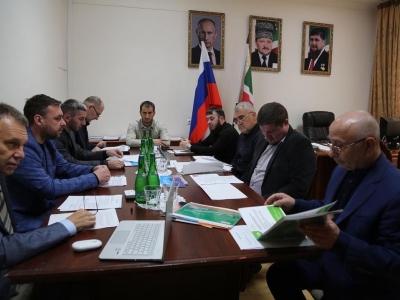 Сегодня сотрудниками Министерства промышленности и энергетики Чеченской Республики проведено совещание с представителями ООО «Химиж»