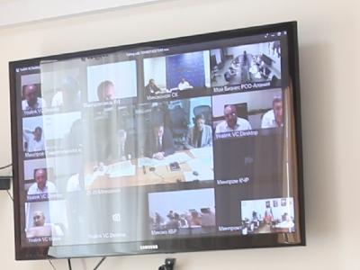 Принято участие в совещании в режиме ВКС по вопросу создания промышленных площадок на территории СКФО