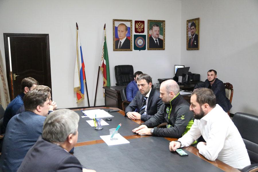 ЧЕЧНЯ.  В Минпромэнерго ЧР провели рабочую встречу с представителями бизнес сообщества Франции и АО «КСК»